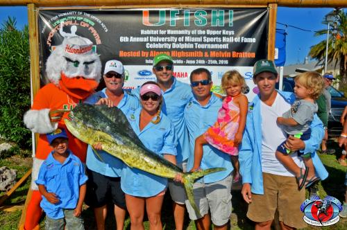 2016 UMSHoF Celebrity Fishing - Afternoon